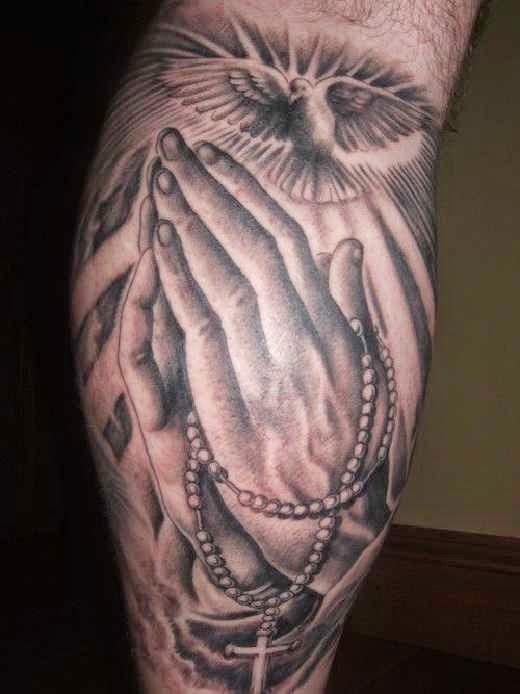 Tatuajes De Cruces Rosarios Y Frases De Fe Belagoria La Web De