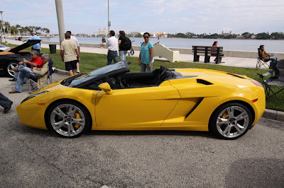 Specs Car Lamborghini Gallardo Spyder Yellow