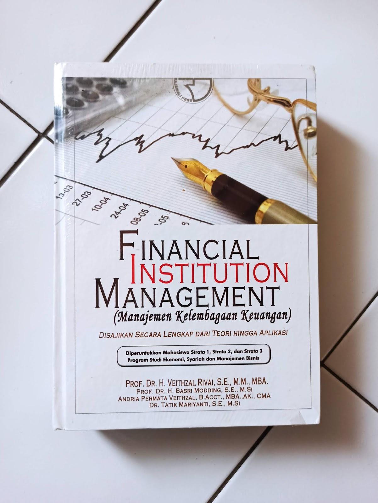 Manajemen Kelembagaan Keuangan