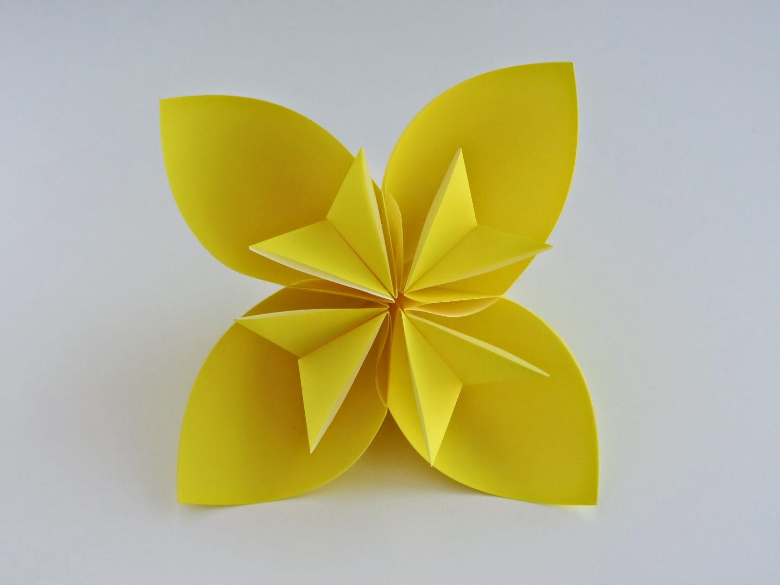 easy flower origami