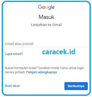 Cara Membuat Gmail 2018 Lengkap Bergambar