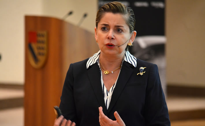 CEO de Manpower para México y América Latina, Mónica Flores. (Foto: Vanguardia Industrial)