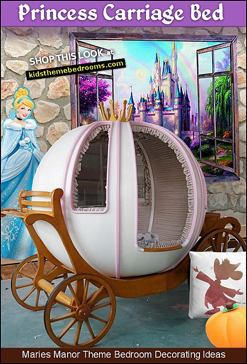 princess carriage bed cinderella pumpkin coach bed princess cinderella bedroom furniture