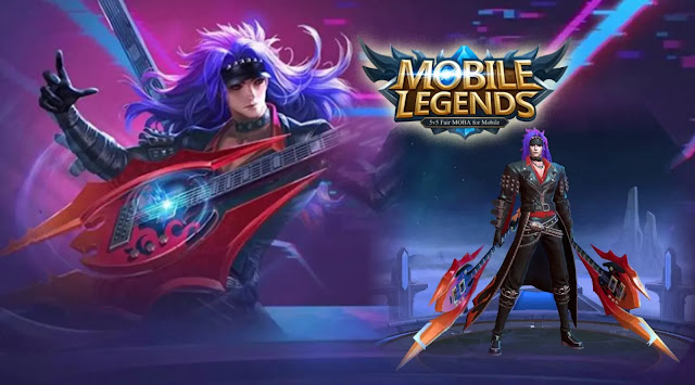 What's interesting here, the free skin is not an old version, but the latest Mobile Legends skin for the hero Martis with the name DeathRock. Of course this is an advantage in itself, the article for the special edition skin in this game has a price that is quite expensive, namely 769 diamond.