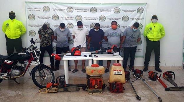 https://www.notasrosas.com/ 'Los Finqueros', capturados por la Policía del Cesar