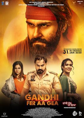 Gandhi Fer Aa Gea 2020 Punjabi 480p WEB HDRip 400Mb x264