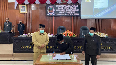 DPRD Kota Mojokerto Setujui Raperda APBD 2021