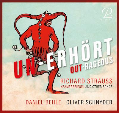 Unerhört - Richard Strauss; Daniel Behle, Oliver Schnyder; Prospero Classical