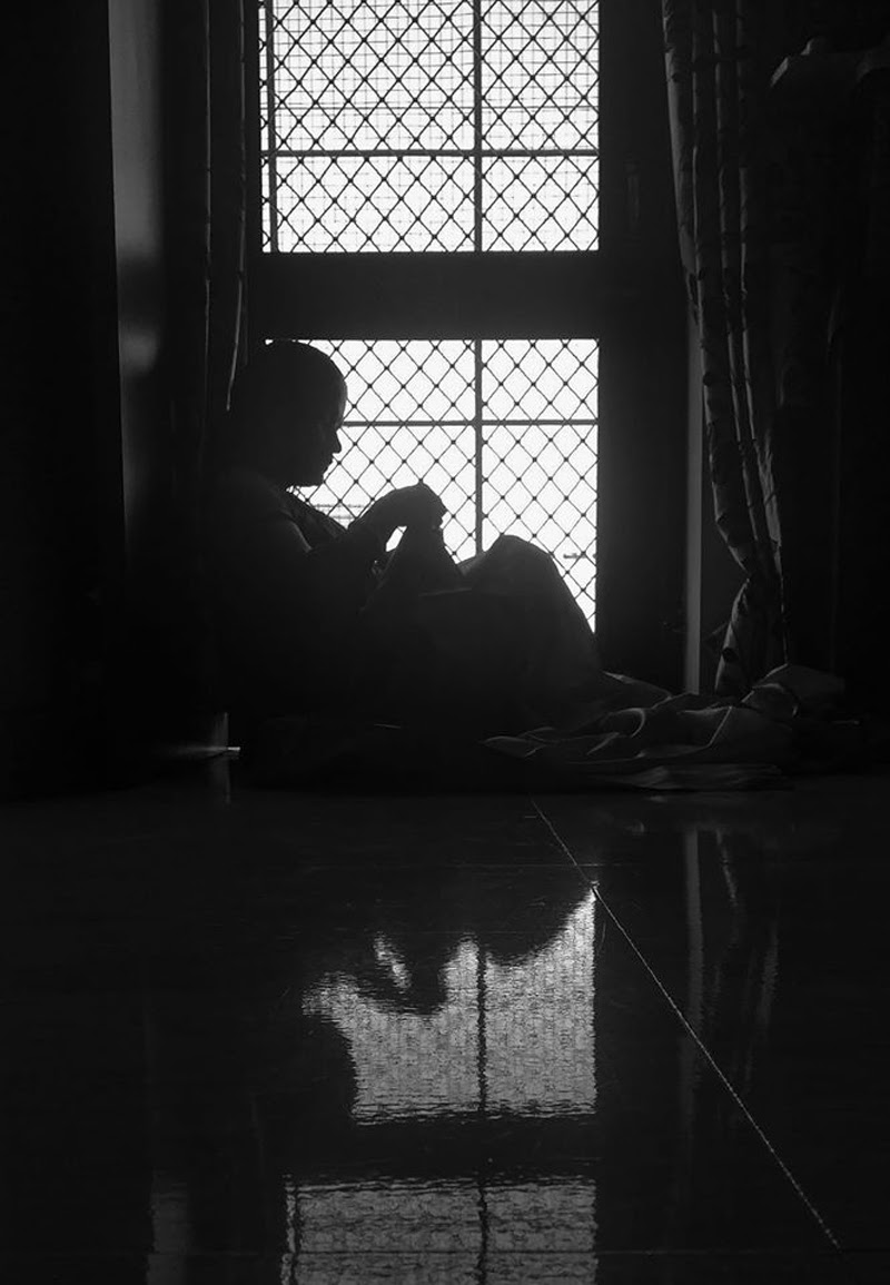 Portrait at Home - Photography Contest Entry by Arun Mazumdar