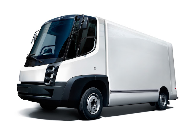Electric Delivery Truck