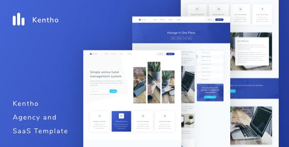 Agency and SaaS Template