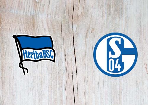 Hertha BSC vs Schalke 04 -Highlights 02 January 2021