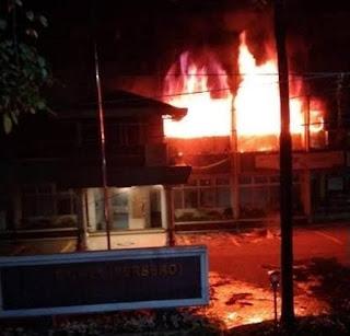 Terbakarnya Kantor PLN Jalan Listrik Medan Tidak Mengganggu Pasokan Listrik