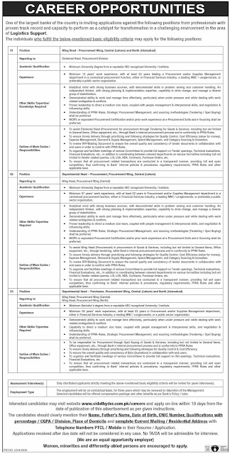 Commercial Banks Jobs 2021 in Lahore & Islamabad
