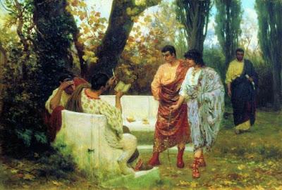 Resultado de imagem para leitura em roma antiga