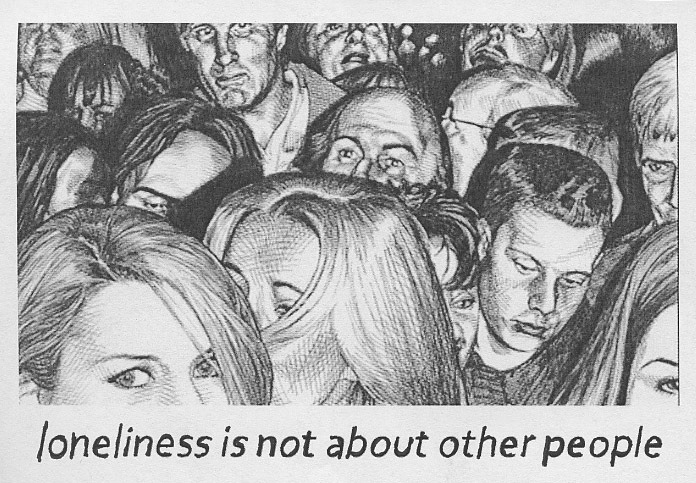 PostSecret: Loneliness is not about other people