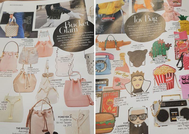 Welche Tasche in diesem Frühling?