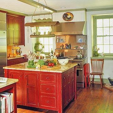 modern furniture red kitchen decorating ideas 2012