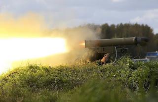 Rudal Generasi Baru Pelumat Tank