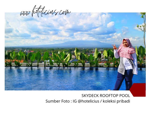 Hotel dengan Kolam Renang Rooftop Terbaik di Jogja