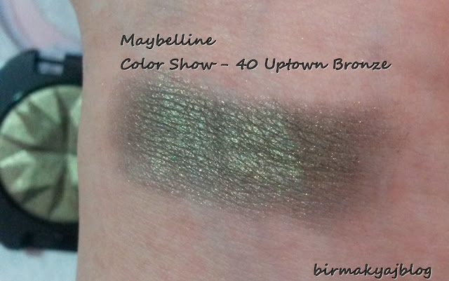 Maybelline - Color Show serisi * 40 Uptown Bronze