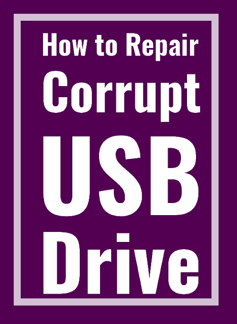How to repair corrupt usb flash drive. Merge, create, repair partitions.