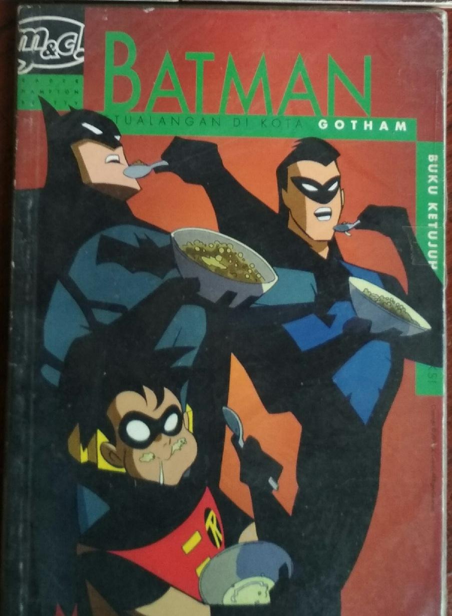Komik Eropa Amerika Mini 4 Top 1 6 Tamat Mulus Serial Batman