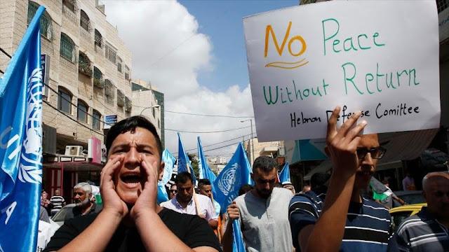 Trabajadores de UNRWA en Gaza entran en huelga contra recortes