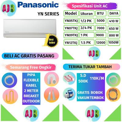 Daftar Harga AC Panasonic Semarang Gratis Pasang