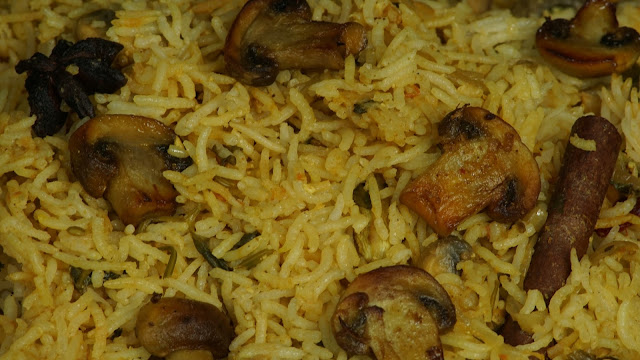 Mushroom-Biryani-Recipe