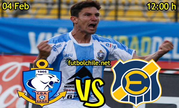 Ver stream hd youtube facebook movil android ios iphone table ipad windows mac linux resultado en vivo, online: Deportes Antofagasta vs Everton