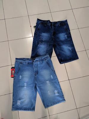 Celana Jeans Pendek SObek