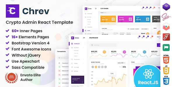Best Admin and Dashboard React Template