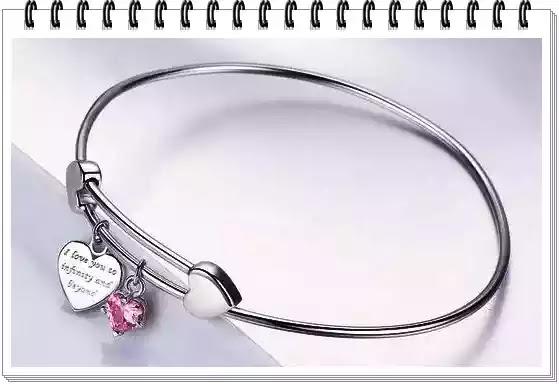 Brățară din argint 925 I Love You păreri forumuri bijuterii cadou pentru iubită care spun că o iubești