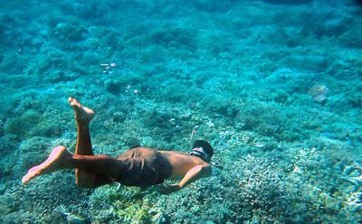 Diving Di Pantai Takat