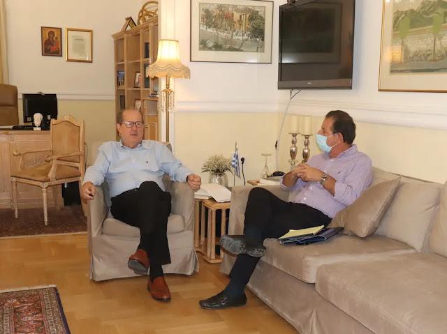 Προγραμματίζεται συνάντηση Νίκα με τους προέδρους των Ιατρικών Συλλόγων της Πελοποννήσου