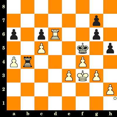 Les Blancs jouent et matent en 3 coups - Irina Berezina vs Essa Mariam, Batoumi, 2018