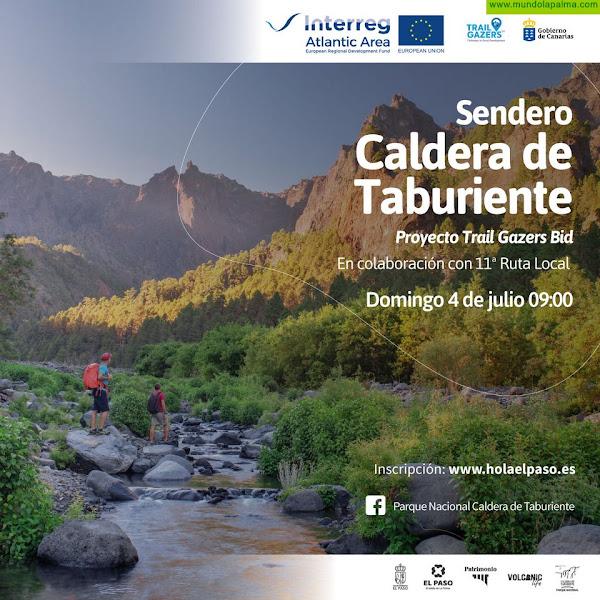 El proyecto europeo Interreg Trail Gazers Bid organiza una ruta guiada por el Parque Nacional de la Caldera de Taburiente