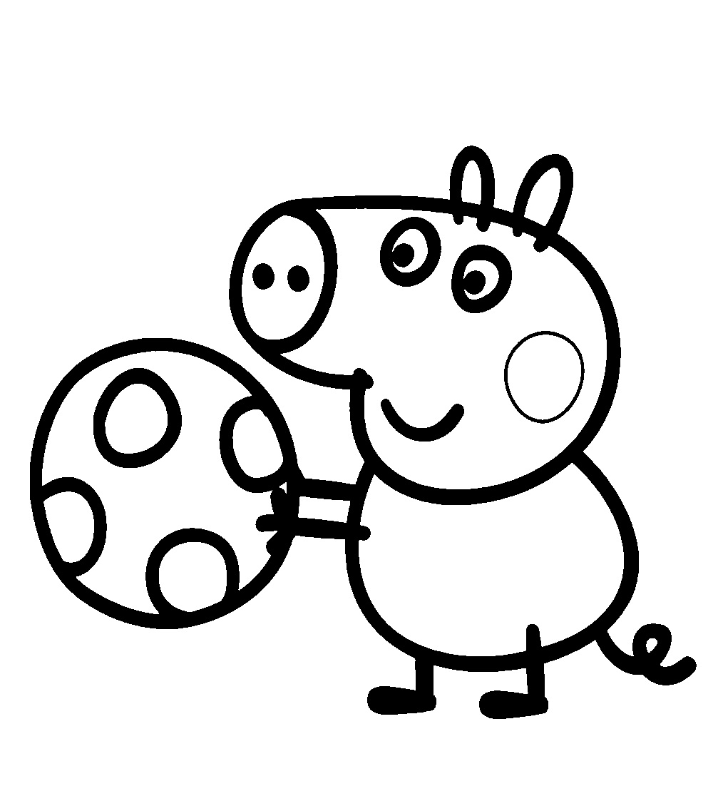 free pig coloring pages - photo#19