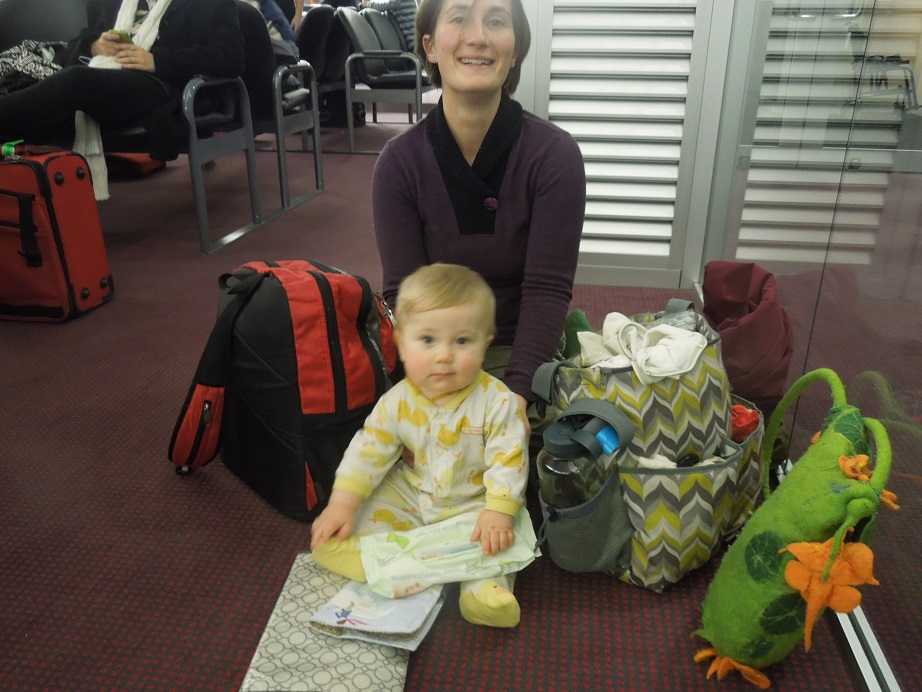 Life in New Zealand: Travelling with baby