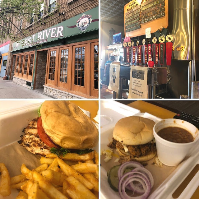 Tasty tidbits and local brews from Bent River Brewing Company in Moline, Illinois.