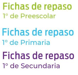 Aprender en Casa Fichas de Trabajo del 1 al 5 de Junio para Preescolar , Primaria y Secundaria