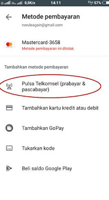 Cara Membeli Ebook di Play Store Dengan Pulsa Telkomsel