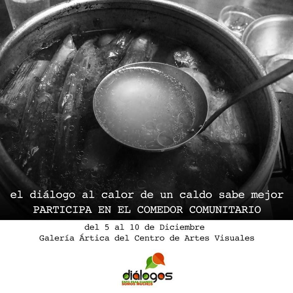 ac9cdea1dee El Proyecto Diálogos convoca a participar del 5 al 10 de diciembre en el  Proyecto de Comedor Comunitario