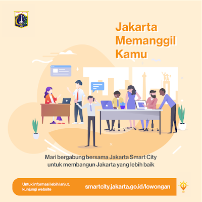 Pengumuman Penerimaan Tenaga Ahli Unit Pengelola Jakarta Smart City