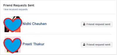 View Sent Friend Requests on Facebook Android App
