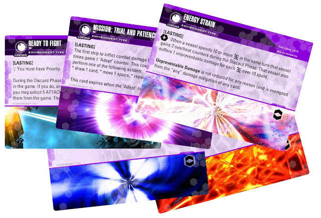Dog Fight: Starship Edition environment cards