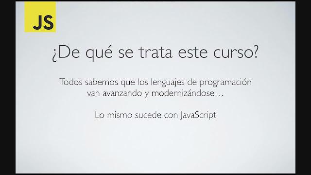 JavaScript: ECMAScript 6 y todos sus detalles