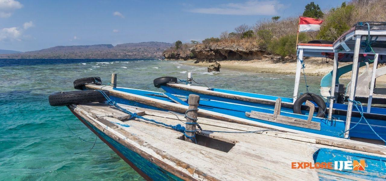 perahu jelajah pulau menjangan Bali Barat