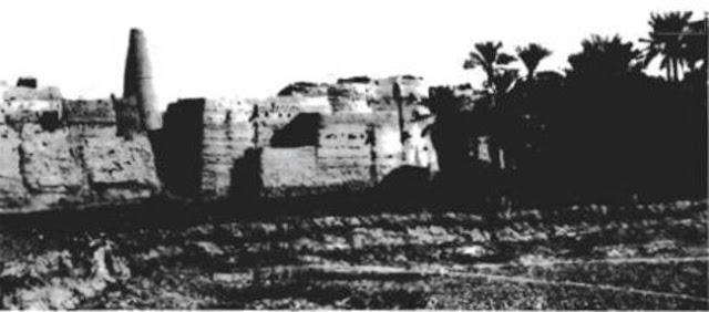 عيون الجواء ، احد واحات القصيم  1912م